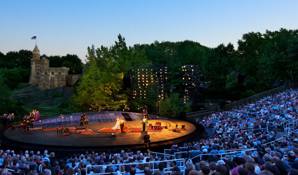 In the City:Shakespeare in the Park