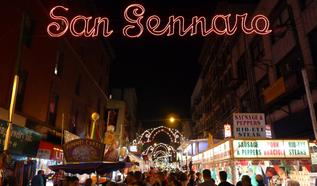 In the CityThe 89th Annual Feast of San Gennaro