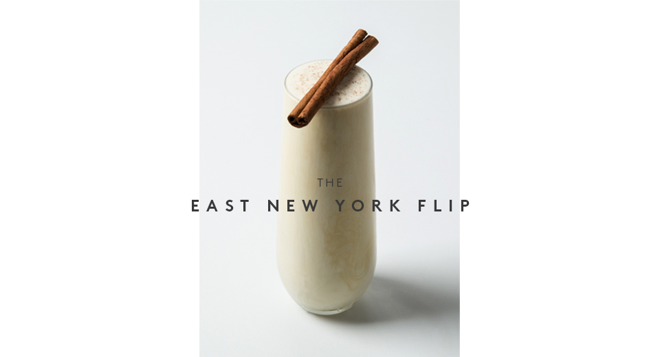 Fall CocktailThe East New York Flip