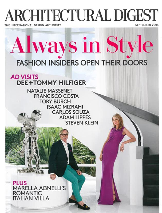 Architectural Digest, September 2014