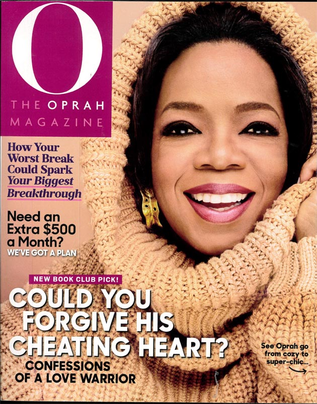 O The Oprah Magazine, October 2016