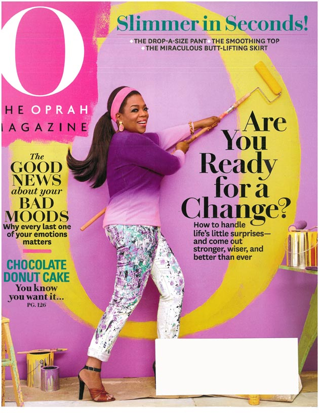 O The Oprah Magazine, April 2015