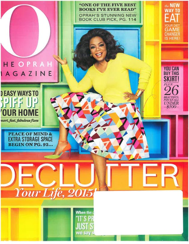 O The Oprah Magazine, March 2015