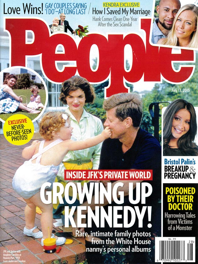 People Magazine, July 2015