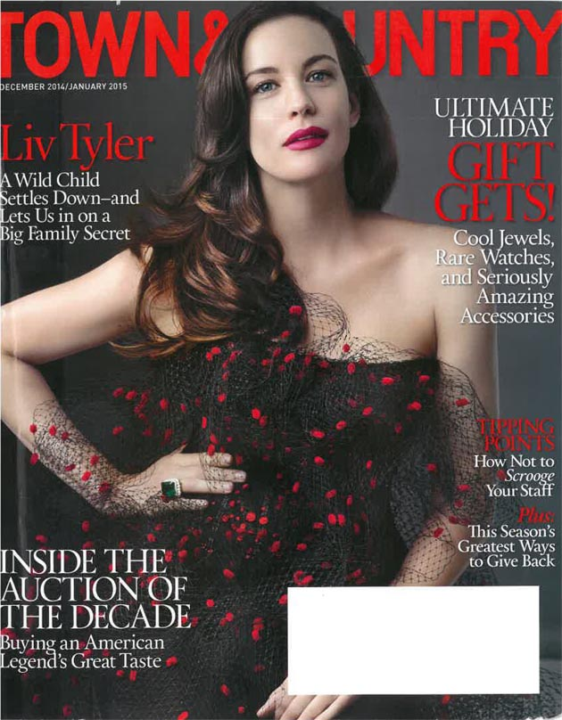 Town & Country, December 2014